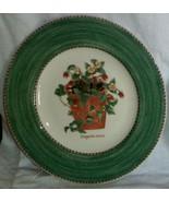"Wedgwood Salad Plate Sarah's Garden Fragaria Vesca Wild Strawberry 8.25"" - $17.09"