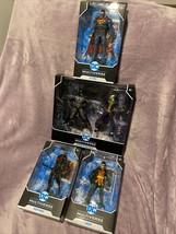 McFarlane DC Multiverse Lot Of 4 Sets Batman & Joker, Robin, Nightwing, ... - $183.15