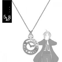 Fullmetal alchemist Kotoba Necklace Edward Elric Anime Manga Pendant Key... - $89.98