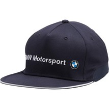 Men's Puma Bmw Motorsport Racing Team Adjustable Flatbrim Hat 02127301 size S/M