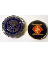USAF The Judge Advocate General's Corps Coin + BONUS USMC Coin - $11.30