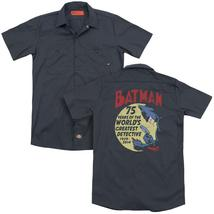 Batman - Detective 75(Back Print) Adult Work Shirt - $44.99+