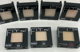 Maybelline New York Fit Me! Set Smooth Pressed Powder 0.3 Oz. Choose Shade - $7.50