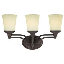 Westinghouse 6302200 Malvern Three-Light Indoor Wall Fixture, Oil Rubbed Bronze  - $71.81
