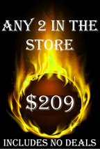 WED-THURS PICK ANY 2 IN THE STORE $209 INCLUDES NO DEALS MYSTICAL TREASURES - $0.00