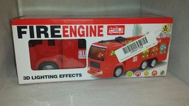 Wolvol Powerful Fire Engine Toy Working Lights, Sound, and Movement - $5.03