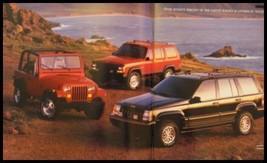 1994 Jeep Book Brochure Wrangler Cherokee - $6.96