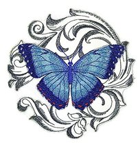 Custom and Unique Amazing Colorful Butterflies [Blue Morpho with Baroque... - $9.89