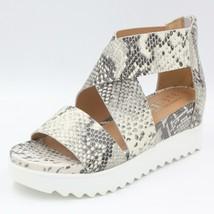 Steven By Steve Madden Women Sandals Kea White Multi Leather Natural Com... - $19.99