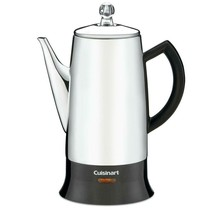 Cuisinart 12-Cup Percolator Long Tapered Precise No-Drip Spout Stainless... - $53.87