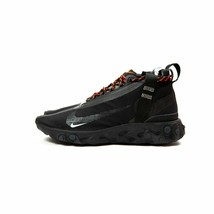 Nike React Runner Mid WR ISPA Black Anthracite AT3143-001 Men Shoes Size... - $247.50