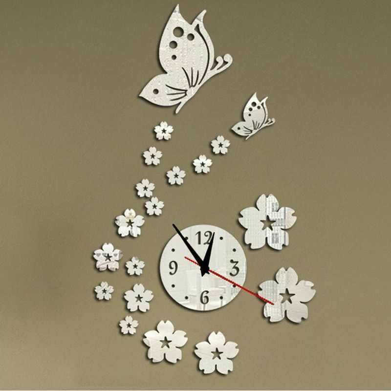 Primary image for New Hot Acrylic Clocks Watch Wall  Modern Design 3d Crystal  Watches Decoration