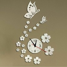 New Hot Acrylic Clocks Watch Wall  Modern Design 3d Crystal  Watches Dec... - $16.88