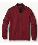 Tommy Bahama Flip Side Classic Reversible Half-Zip Sweatshirt, Size M, M... - $59.39