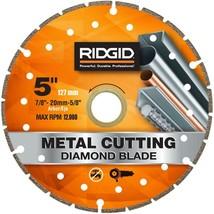 Ridgid 5 in. Metal Cutting Diamond Blade HD-MTL50 - $15.83
