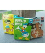 3 packs Donald Duck Jungle Book Pinocchio Card Game Ed-U-Cards  - $19.99