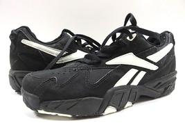 NOS w/ BOX Reebok Vintage Style FORTIUS Black/White Athletic Shoe Men Size 9.5 - $118.75