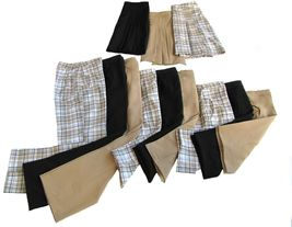 """20"""" Longer Stylish Tan Golf Skort with Attached Shortie - New - GoldenWear image 7"""