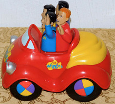 "The Wiggles Big Red Car 2003 Spin Master Battery Operated- Musical Toy 8"" long - $25.23"