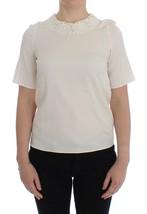Dolce & Gabbana White lace silk blouse - $264.55