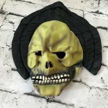 Kletterpflanze Gummi Maske Erwachsene OS Skelett Skull Reaper Ghul Scary - $24.73