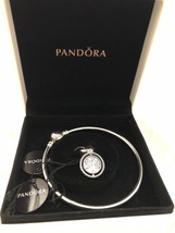 "Genuine Pandora Family Tree Bangle Gift Set Size 7.5"" - $89.95"