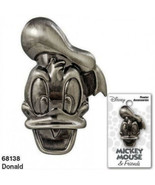 Walt Disney Donald Duck 3D Face and Head Deluxe Metal Pewter Pin NEW UNUSED - $7.84