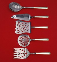 Camellia by Gorham Sterling Silver Brunch Serving Set 5-Piece Custom Made - $359.00