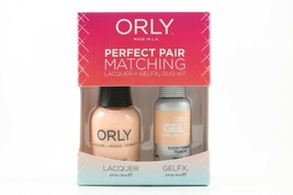 3100013 - Orly Gel FX .3oz + Nail Lacquer .6oz Combo - Everything's Peachy - $12.98