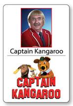 CAPTAIN KANGAROO KIDS TV SHOW NAME BADGE TAG HALLOWEEN COSPLAY MAGNET BACK - $14.84