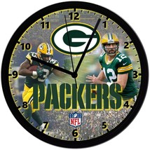"Green Bay Packers Homemade 8"" NFL Wall Clock w/ Battery Included - $23.97"