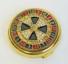 Estee Lauder Roulette Wheel Las Vegas Lady Luck Lucidity Powder Compact  - $154.99