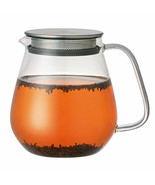 Kinto 720 ml Unitea Glass Teapot with Stainless Steel Strainer in Lid - $37.61