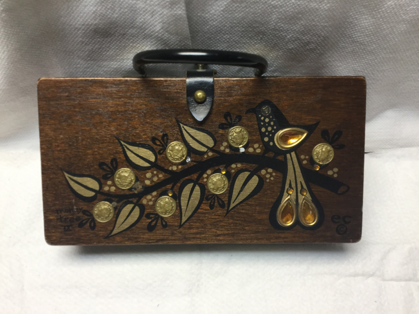 3ae3e9ce41 Enid Collins vintage 1964 Money Tree box bag and 24 similar items. 15aefd40  d9a2 42ef a4a9 0670ec839afe