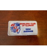 Bowlers Club of Illinois High Average Patch from the 90s Silver Border - $7.43