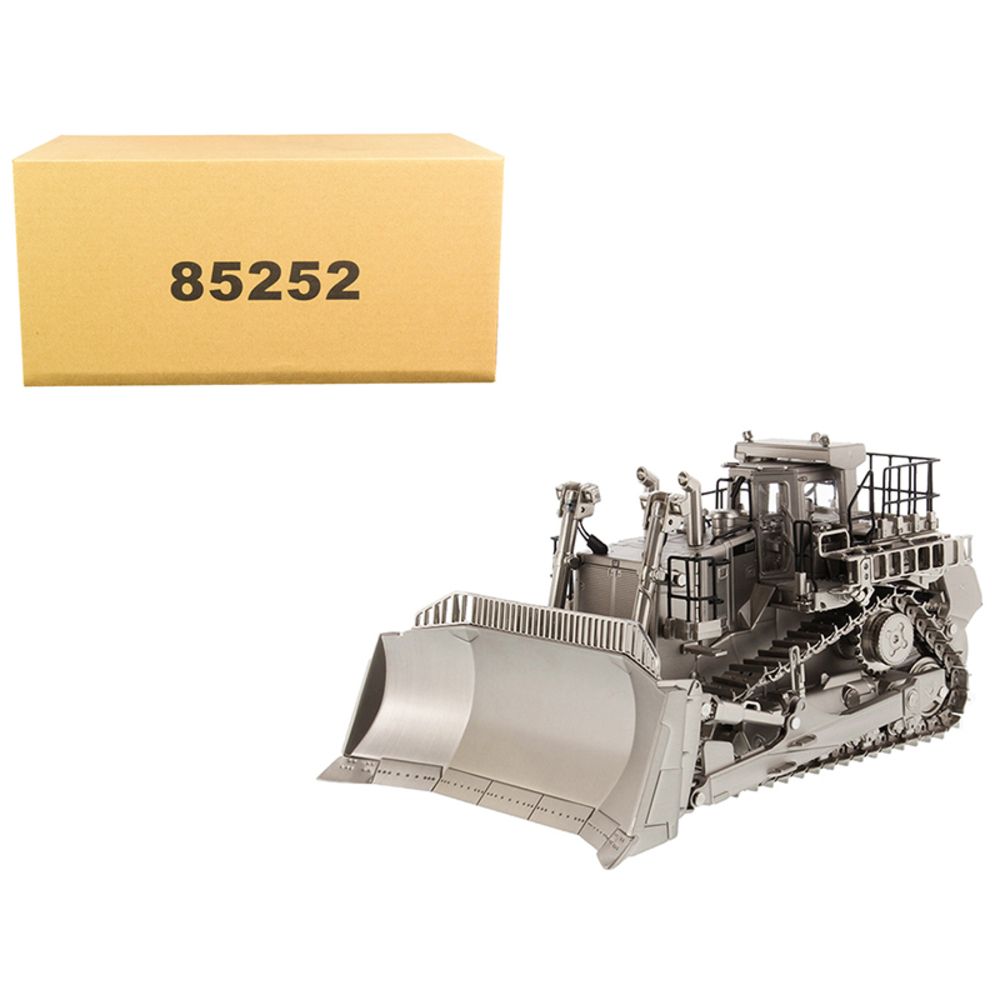 Primary image for CAT Caterpillar D11T Track Type Tractor Dozer Matt Silver Plated Commemorative S
