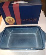 "10.5"" Loaf Pan Blue Basque Ceramique Andalusian Stoneware - $24.20"