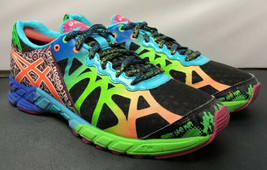 Asics Gel Noosa Tri 9 T458N Black Multicolor Running Shoes Sneakers Wome... - $54.45