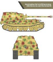 Academy 13537 German Elefant Sd.kfz.184 Tank Plastic Hobby Model Kit image 5