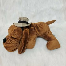 "16"" Russ Dog Hound Gus Doggiduds Hat Brown Plush Stuffed Toy B220 - $29.99"