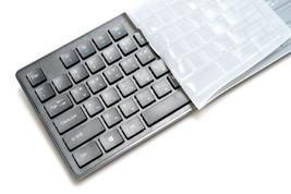 iRiver Korean English Keyboard USB Wired Membrane Cover Skin Protector (Black) image 2