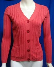 TALBOTS Petites Button Down Long Sleeve Cardigan Sweater Size Small - $8.86