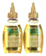 2 Bottles OGX 4 Oz Hydrate & Revive Argan Of Morocco Miracle In Shower Oil - $19.99