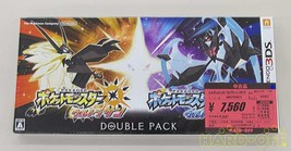 Nintendo Pokemon Ultra Sun Moon W Pack 3Ds Software - $127.68