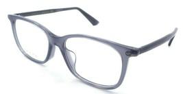 Gucci Eyeglasses Frames GG0157OA 004 52-17-145 Grey Made in Italy - $245.00