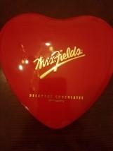 Mrs. Fields Heart Shaped Cookie Box - $25.62
