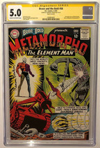 Ramona Fradon SIGNED CGC SS 5.0 Brave & The Bold #57 2nd App Metamorpho ... - $128.69