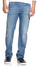 Armani Jeans Men's Straight-Fit Jeans, Light Wash ,0MJ81/2J,Size 30X32,M... - $89.09