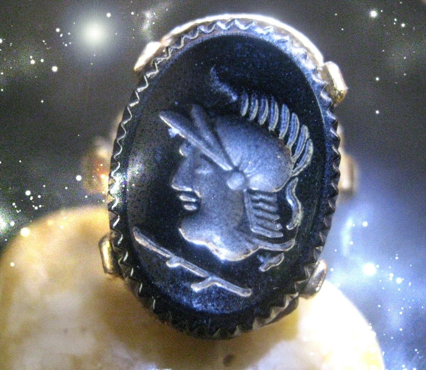 Primary image for HAUNTED ANTIQUE KNIGHT RING YOU ARE LEGENDARY EXTREME OOAK HIGH MAGICK POWER