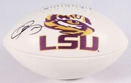 Odell Beckham Jr Signed Full Size LSU Tigers Football JSA Giants - $233.74